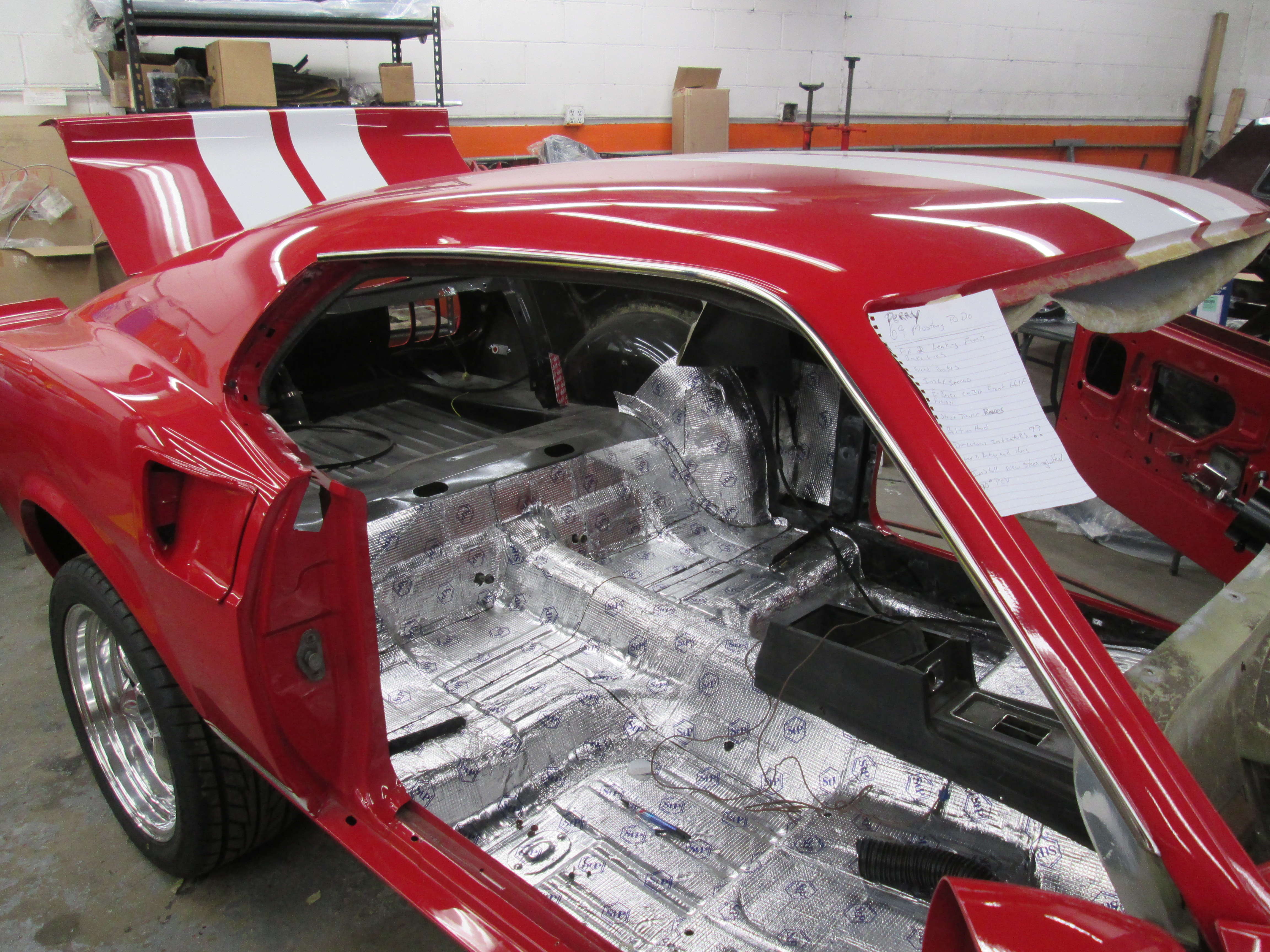 1969 ford pauls rods and restos for 05 mustang door panel removal
