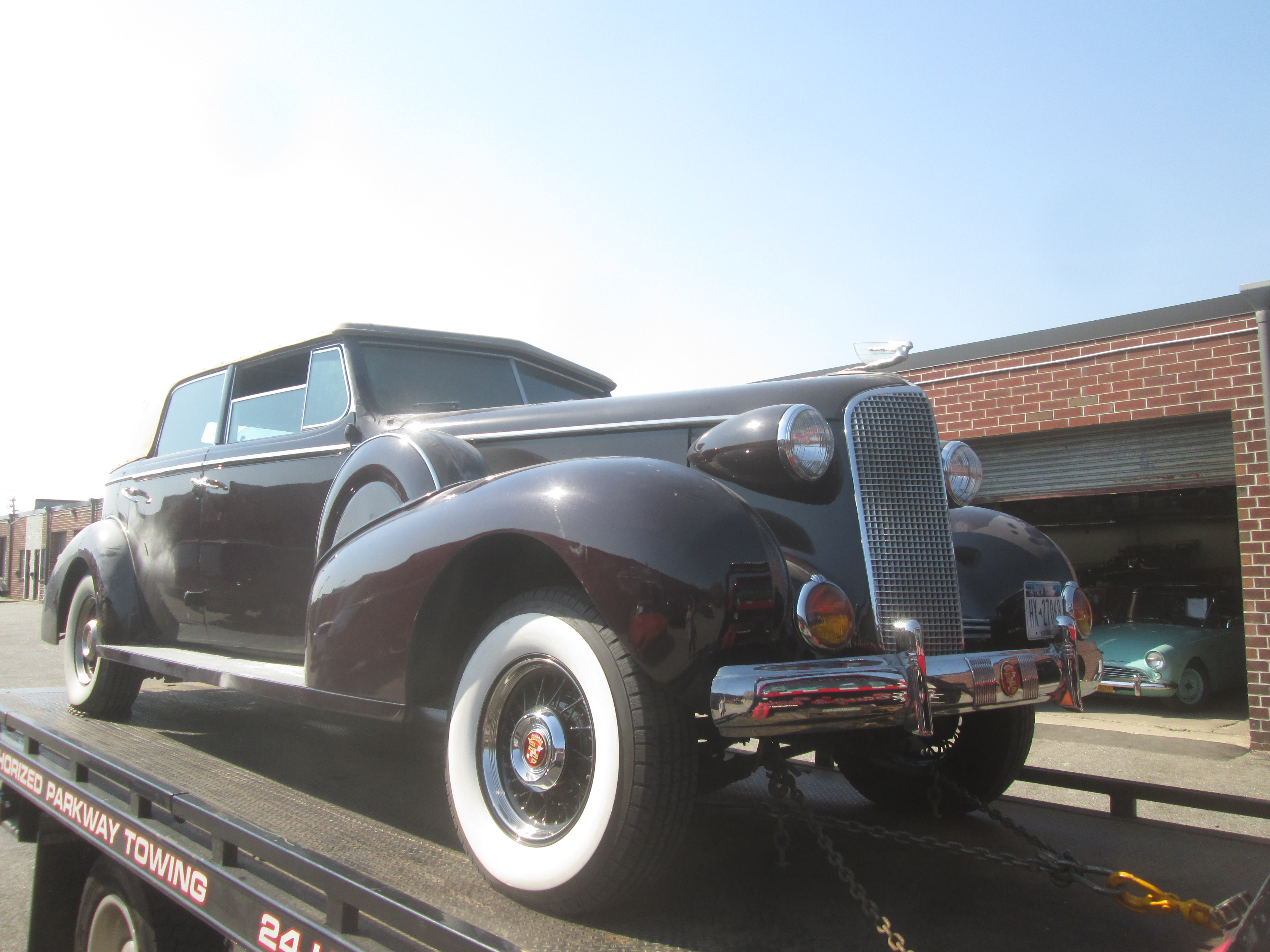 Cadillac Convertible 2015 >> 1937 Cadillac Convertible :: Pauls Rods and Restos